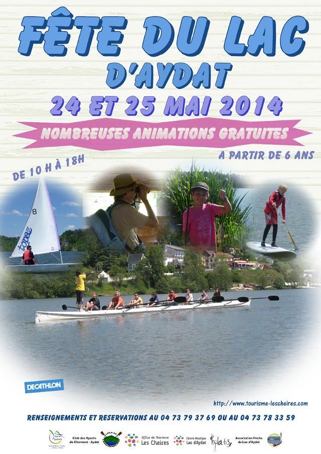 Aviron Clermont Aydat, fête du lac