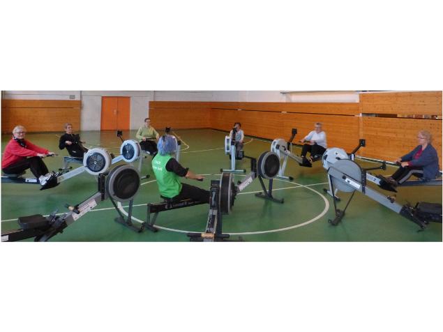 L'Aviron Clermont Aydat, Aviron Sport Santé, Gym après Cancer