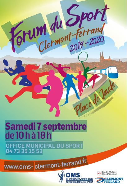 L'Aviron Clermont Aydat, Forum du sport, Clermont-Ferrand
