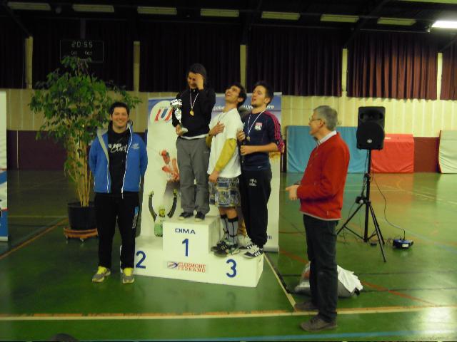 Challenge aviron indoor remise des prix