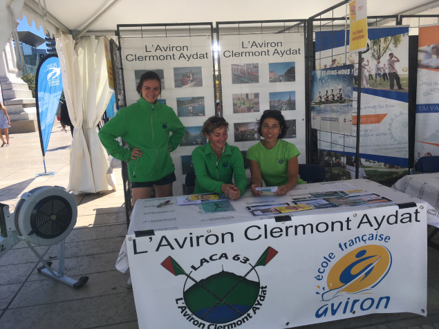 L'Aviron Clermont Aydat, Forum sports à Clermont