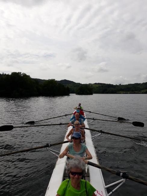 L'Aviron Clermont Aydat, Faites du nautisme 2018, fête du lac
