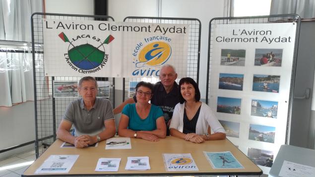 L'Aviron Clermont Aydat, Forum des associations
