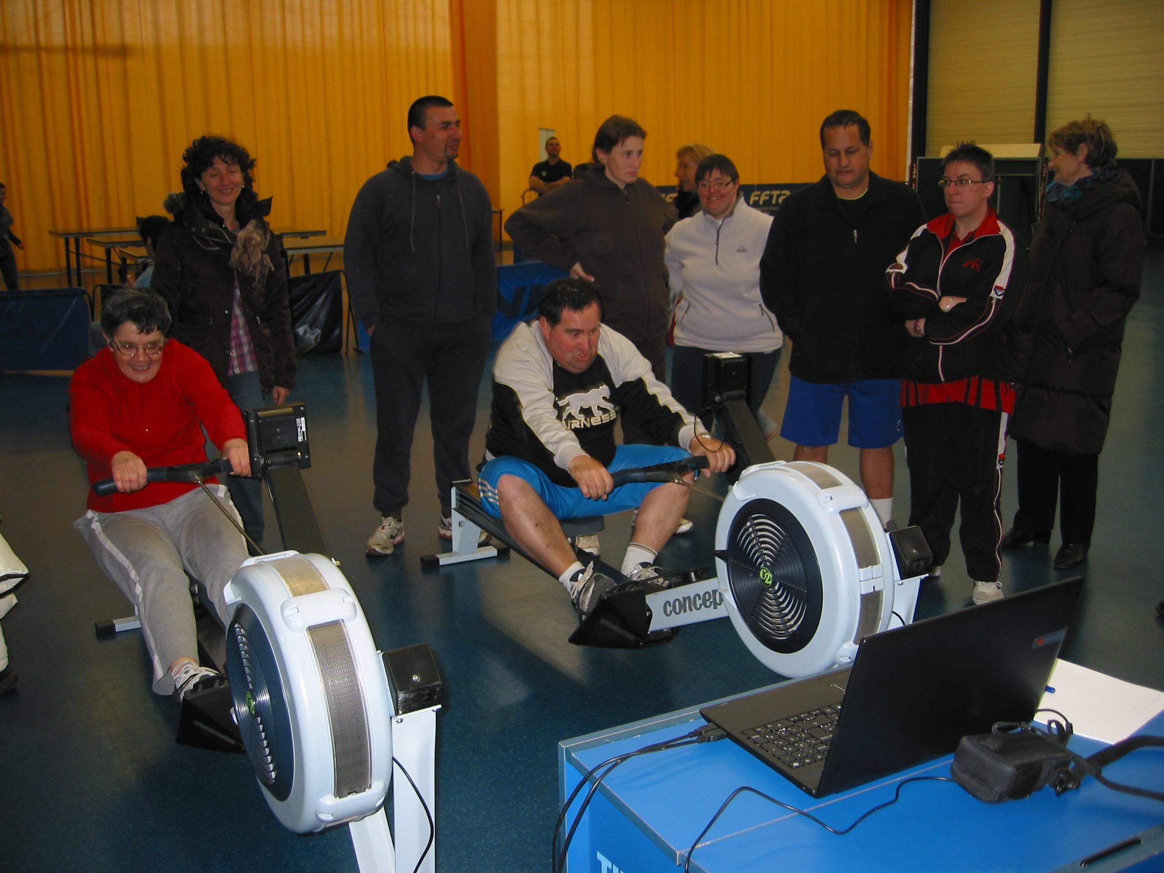 L'Aviron Clermont Aydat, sport adapté