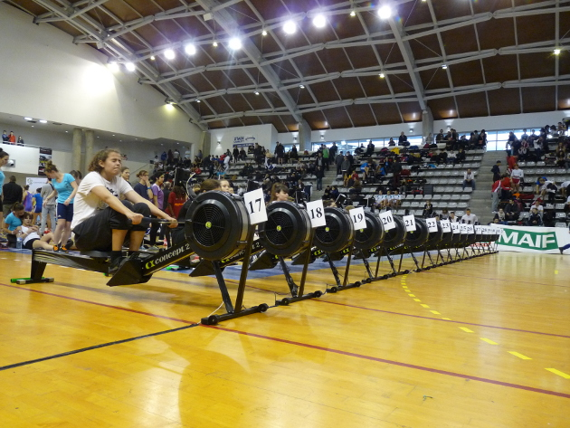 Aviron Clermont Aydat, indoor universitaire