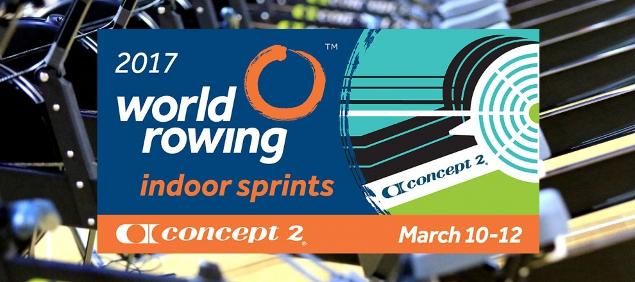 L'Aviron Clermont Aydat, indoor sprints 2017
