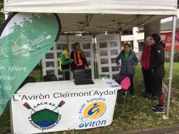 L'Aviron Clermont Aydat, La Chamaliéroise 2019