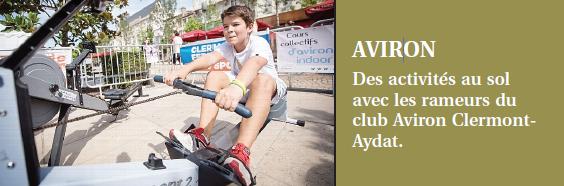 L'Aviron Clermont Aydat, Sport à Clermont 2016