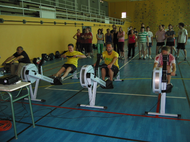 L'Aviron Clermont Aydat, olympiades doctorales