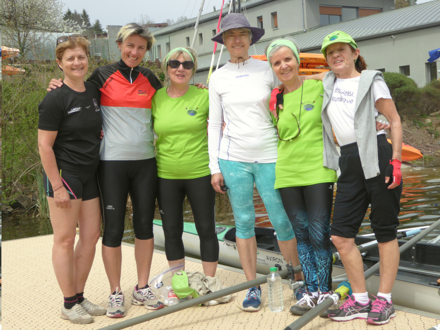 L'Aviron Clermont Aydat, Pink Ladies, Vogalonga
