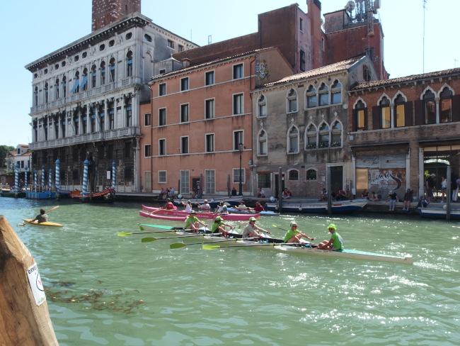 L'Aviron Clermont Aydat, Pink Ladies, Vogalonga, Venise