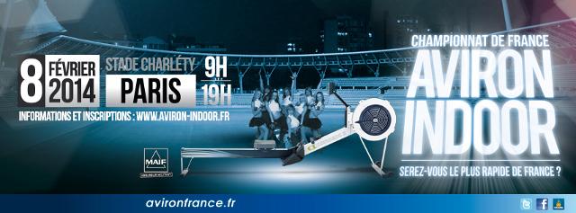 L'Aviron Clermont Aydat, championnat France indoor 2014