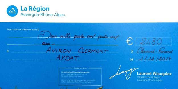 L'Aviron Clermont Aydat, Région Auvergne-Rhône-Alpes