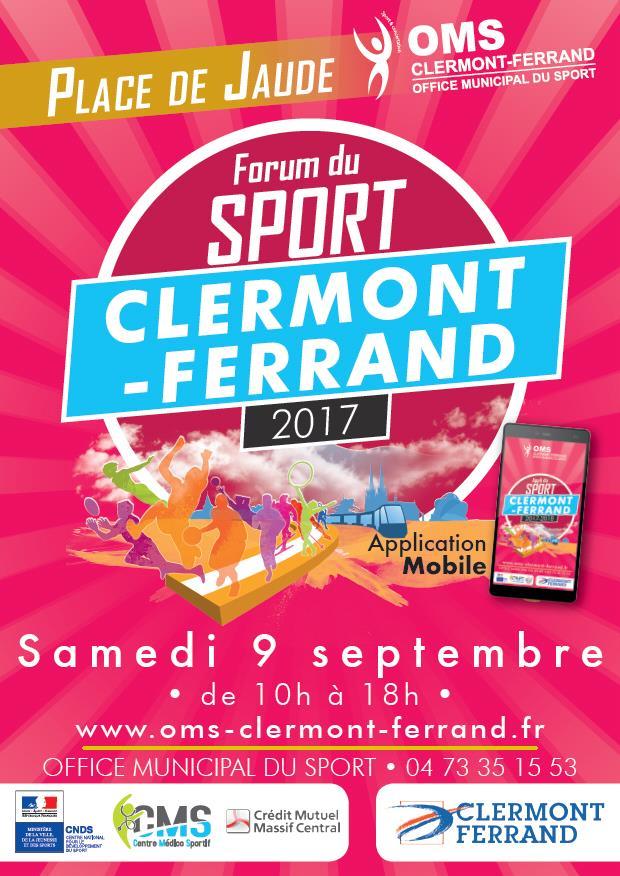 L'Aviron Clermont Aydat, forum à tous sports 2017, OMS Clermont-Ferrand