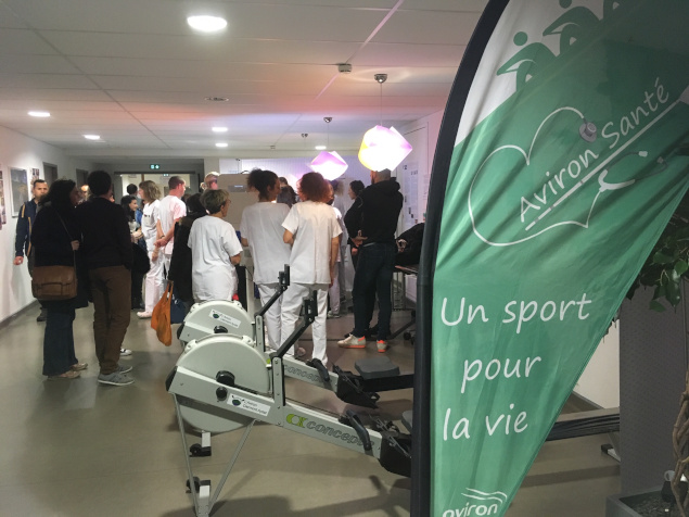 L'Aviron Clermont Aydat, Movember, centre Jean Perrin